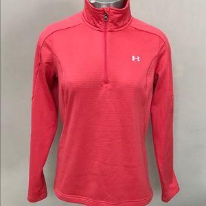UNDER ARMOUR Athletic Sweatshirt 1/4 Zip Pullover